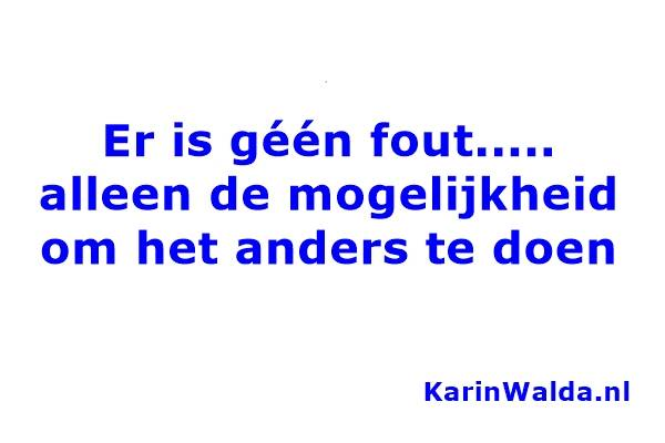 er is geen fout